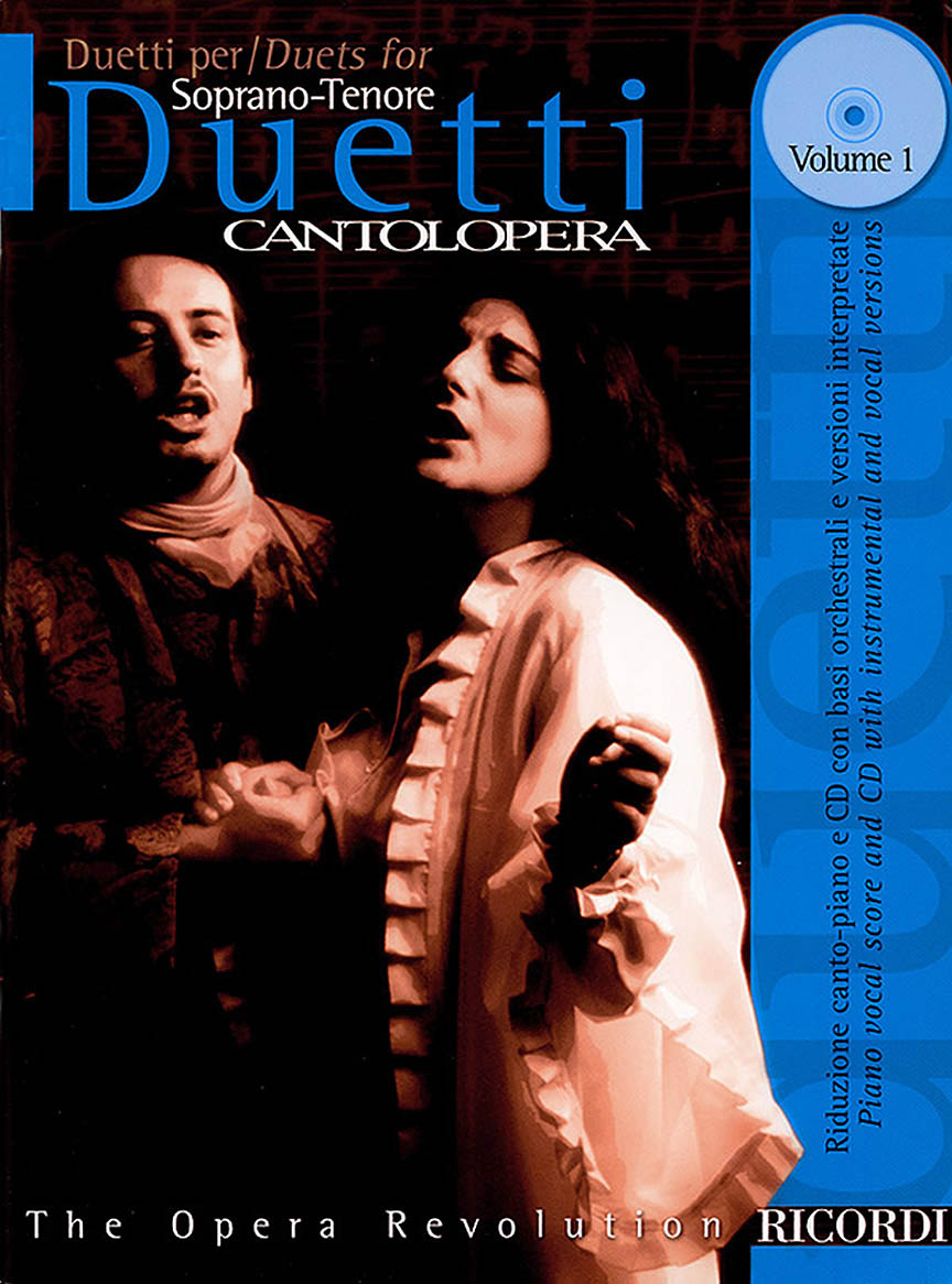 Product Cover for Cantolopera: Duets for Soprano/Tenor - Volume 1