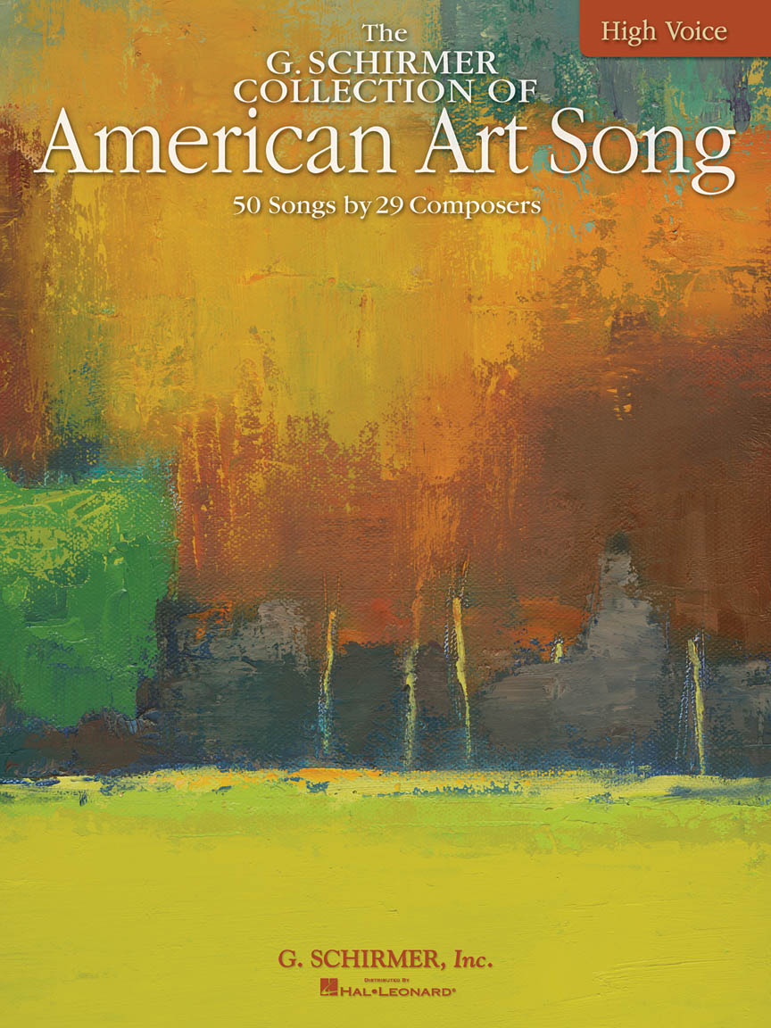 Product Cover for The G. Schirmer Collection of American Art Song – 50 Songs by 29 Composers