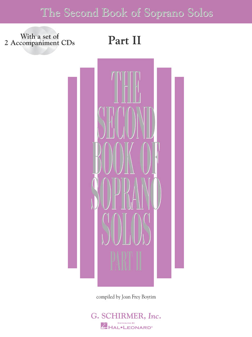 Product Cover for The Second Book of Soprano Solos Part II