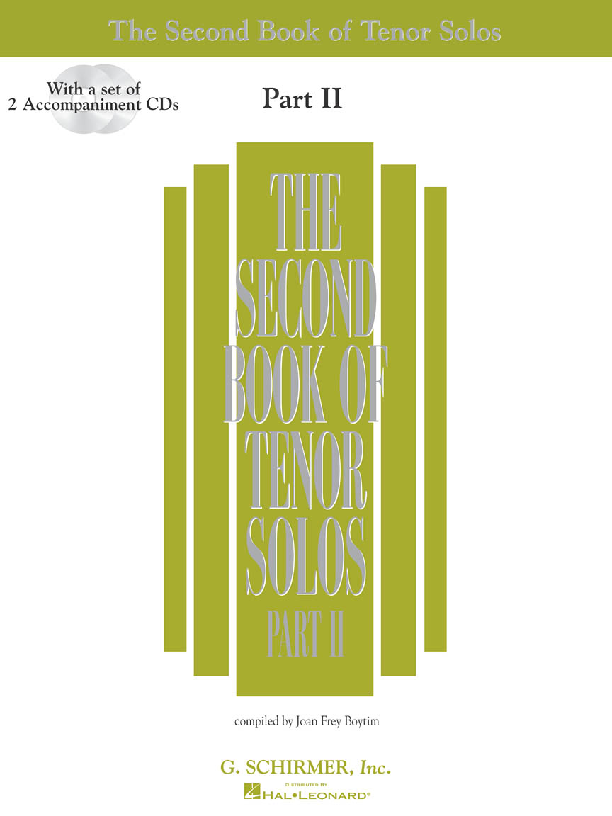 Product Cover for The Second Book of Tenor Solos Part II