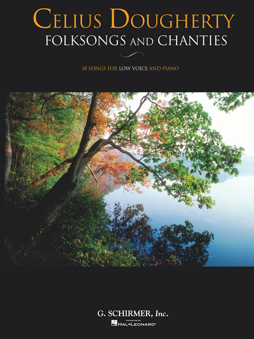 Product Cover for Celius Dougherty – Folksongs and Chanties