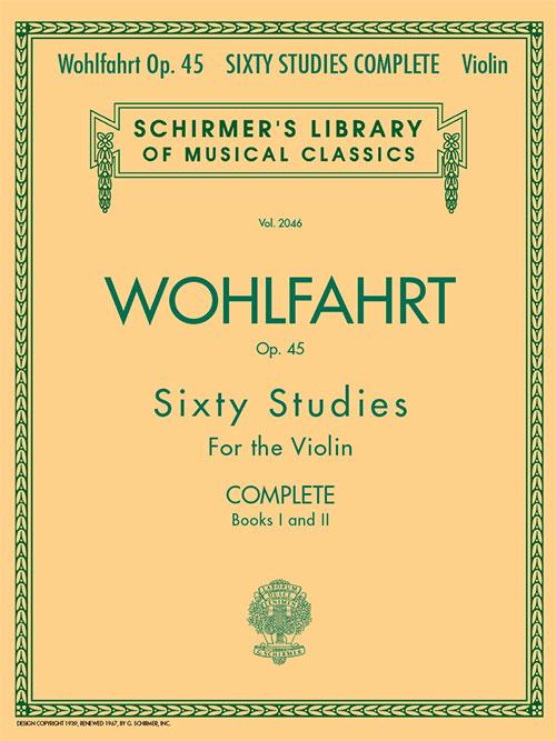 Franz Wohlfahrt – 60 Studies, Op. 45 Complete