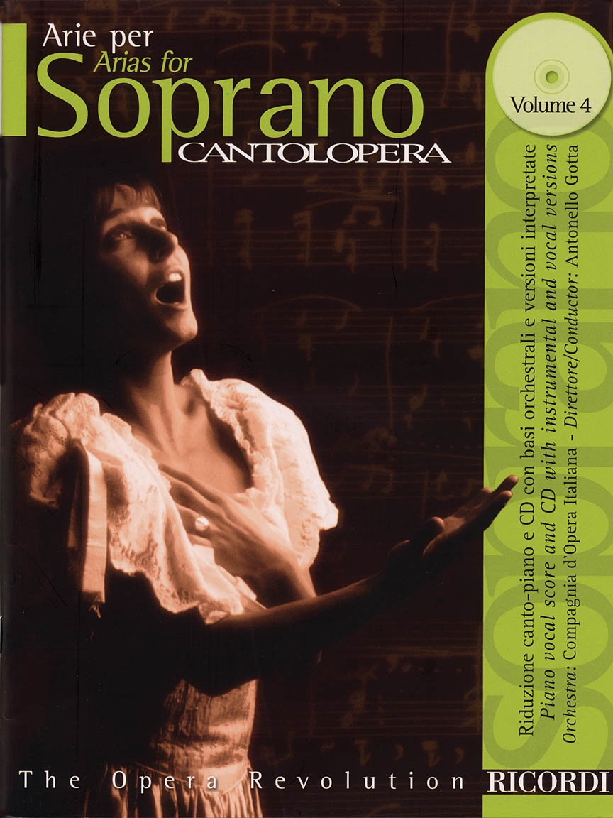 Product Cover for Cantolopera: Arias for Soprano Volume 4