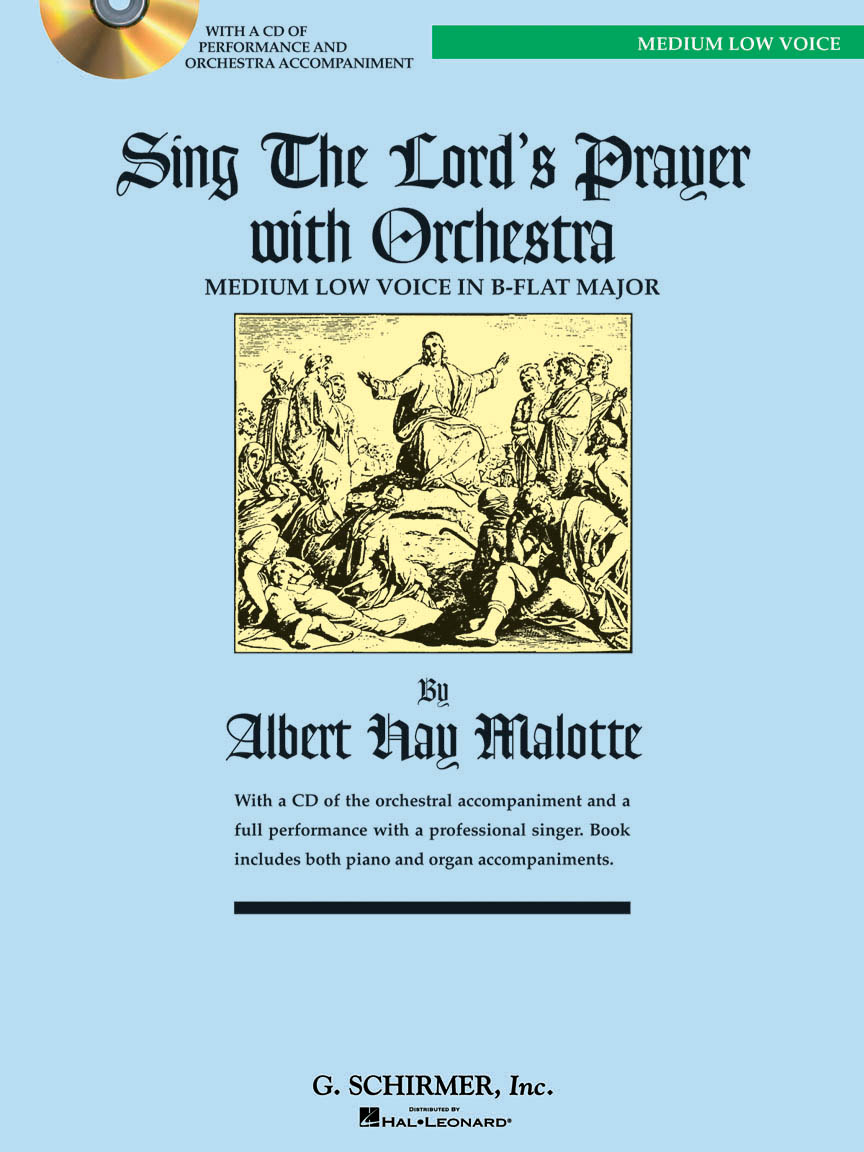 Product Cover for Sing The Lord's Prayer with Orchestra - Medium Low Voice