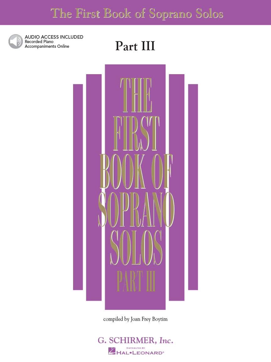 Product Cover for The First Book of Soprano Solos – Part III