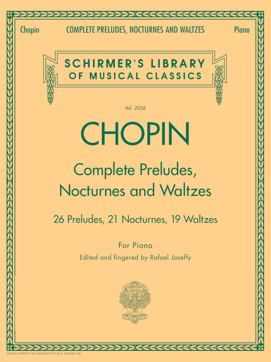 Product Cover for Complete Preludes, Nocturnes & Waltzes
