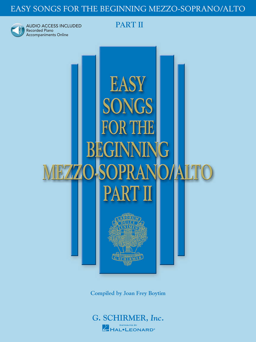 Product Cover for Easy Songs for the Beginning Mezzo-Soprano/Alto – Part II