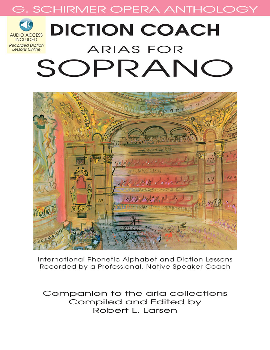 Product Cover for Diction Coach – G. Schirmer Opera Anthology (Arias for Soprano)