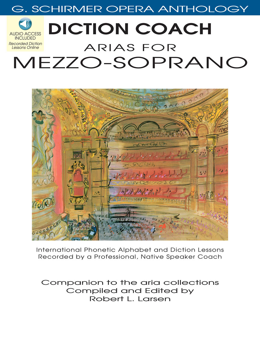 Product Cover for Diction Coach – G. Schirmer Opera Anthology (Arias for Mezzo-Soprano)