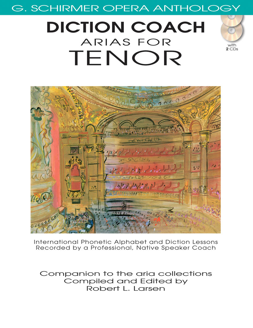 Product Cover for Diction Coach – G. Schirmer Opera Anthology (Arias for Tenor)