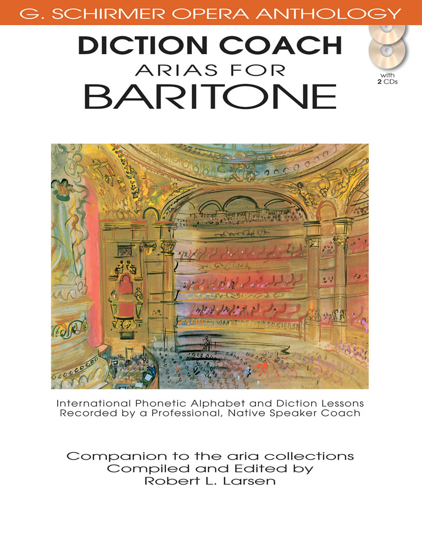 Product Cover for Diction Coach – G. Schirmer Opera Anthology (Arias for Baritone)