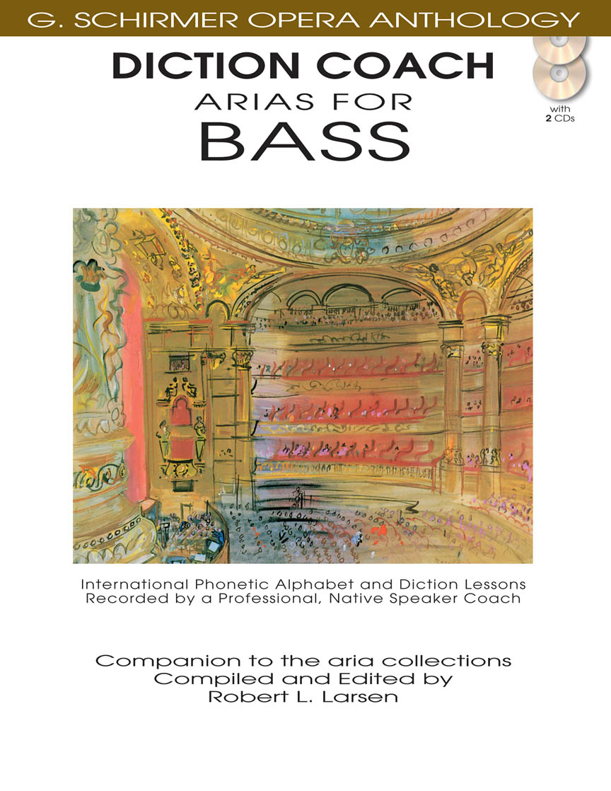 Product Cover for Diction Coach – G. Schirmer Opera Anthology (Arias for Bass)