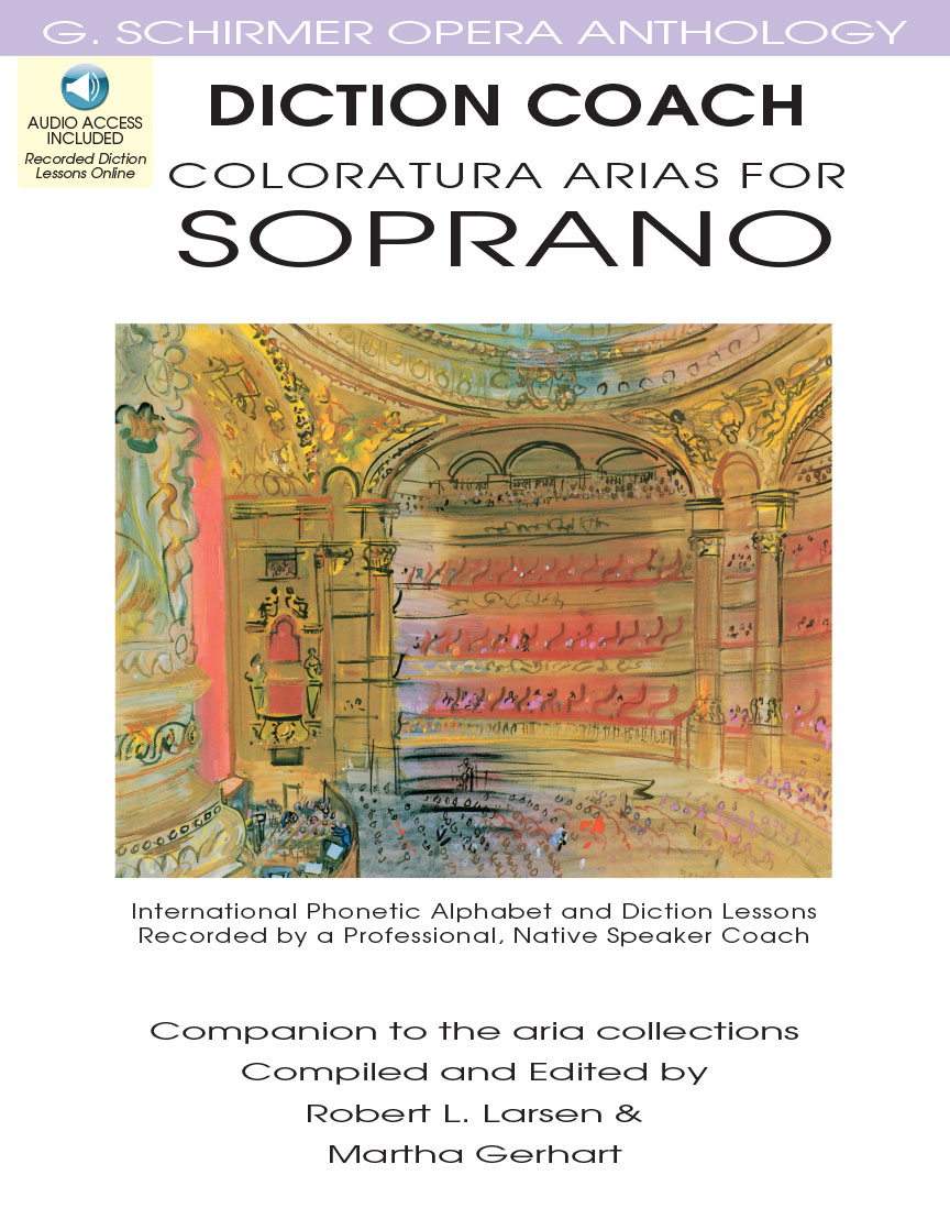 Product Cover for Diction Coach – G. Schirmer Opera Anthology (Coloratura Arias for Soprano)