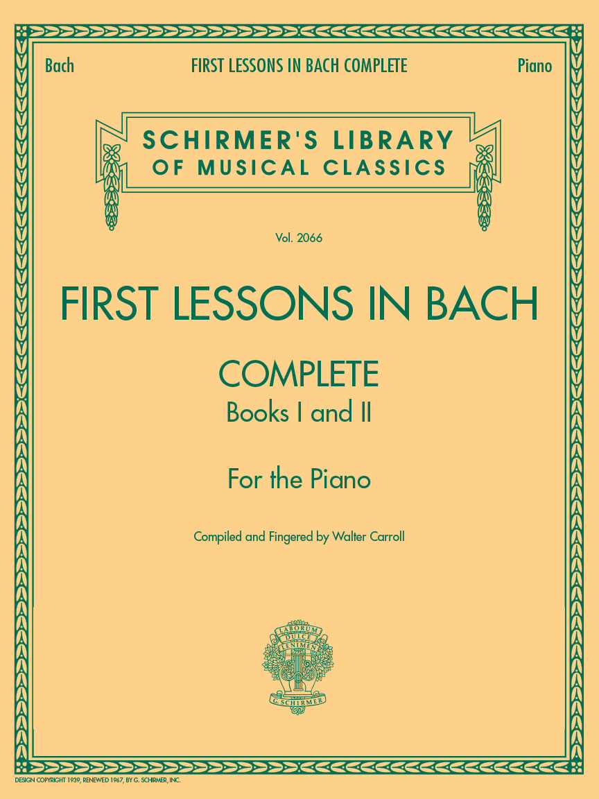Product Cover for First Lessons in Bach, Complete