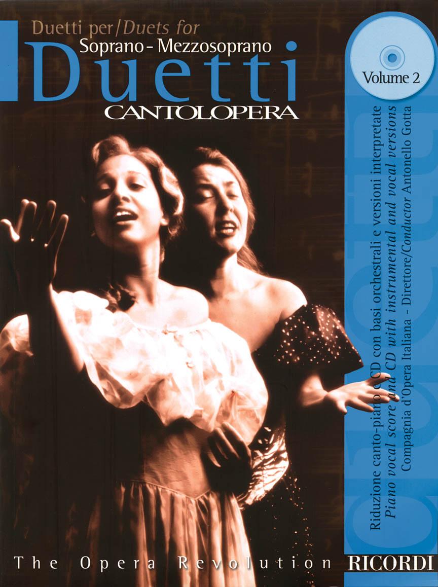 Product Cover for Duets for Soprano/Mezzosoprano – Volume 2