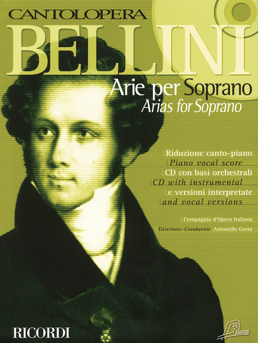Product Cover for Bellini Arias for Soprano