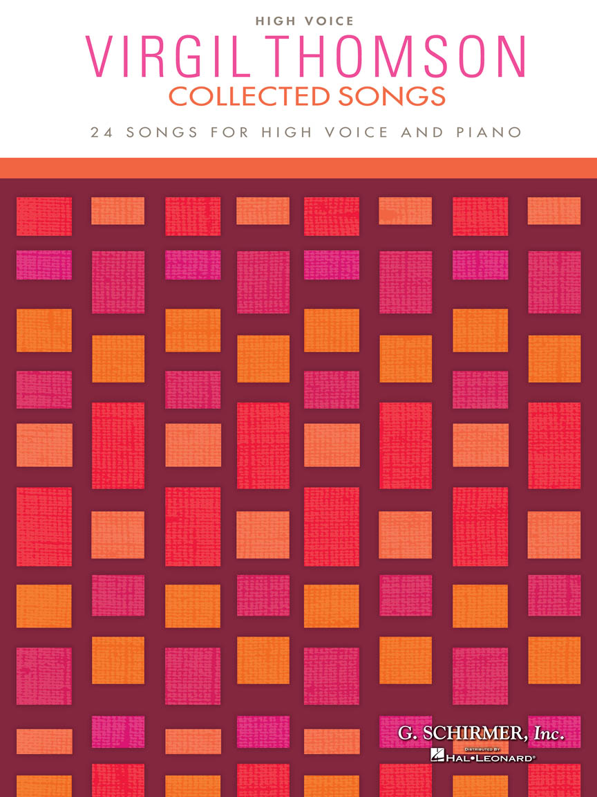 Product Cover for Virgil Thomson – Collected Songs
