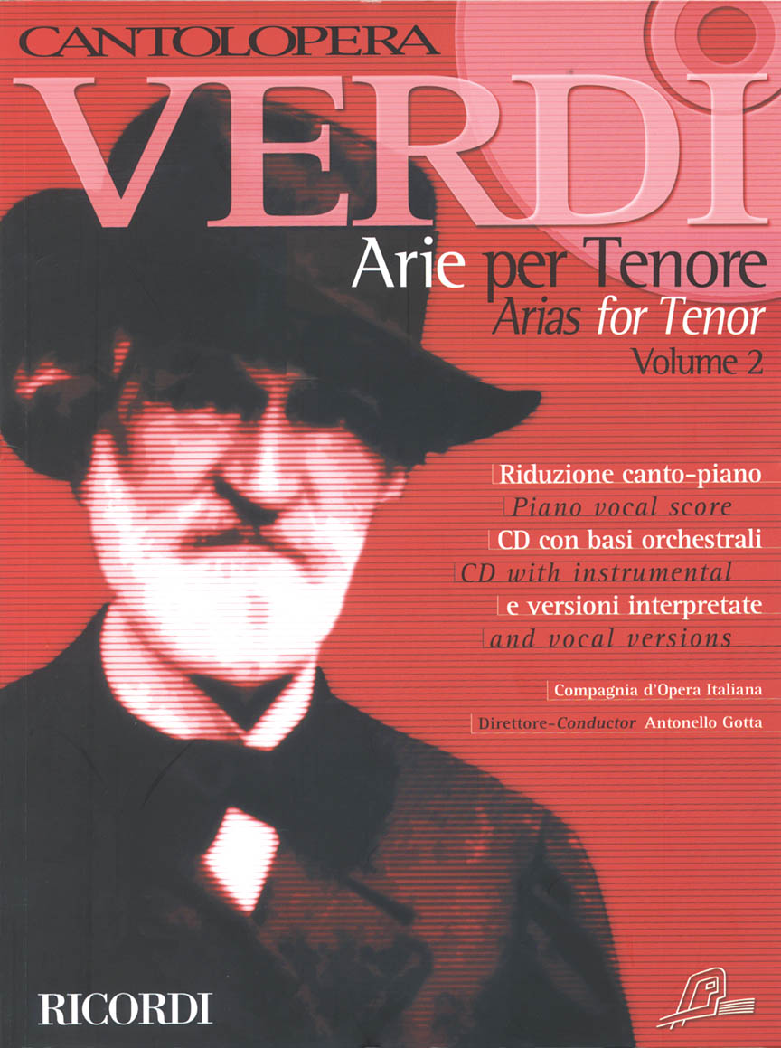 Product Cover for Cantolopera: Verdi Arias for Tenor Volume 2