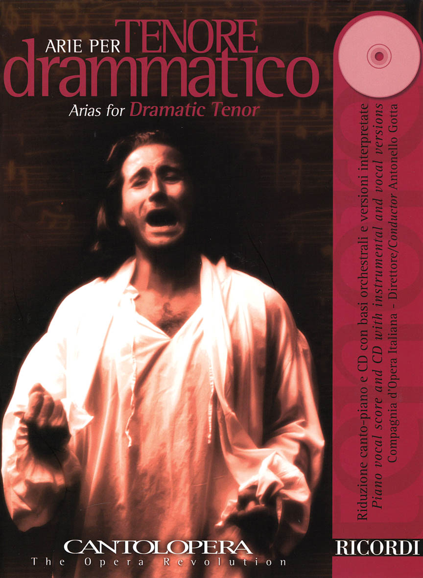 Product Cover for Arias for Dramatic Tenor