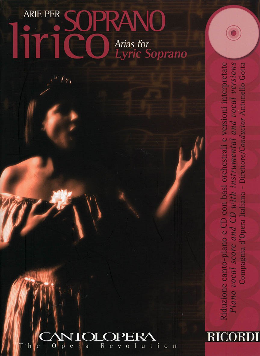 Product Cover for Arias for Lyric Soprano