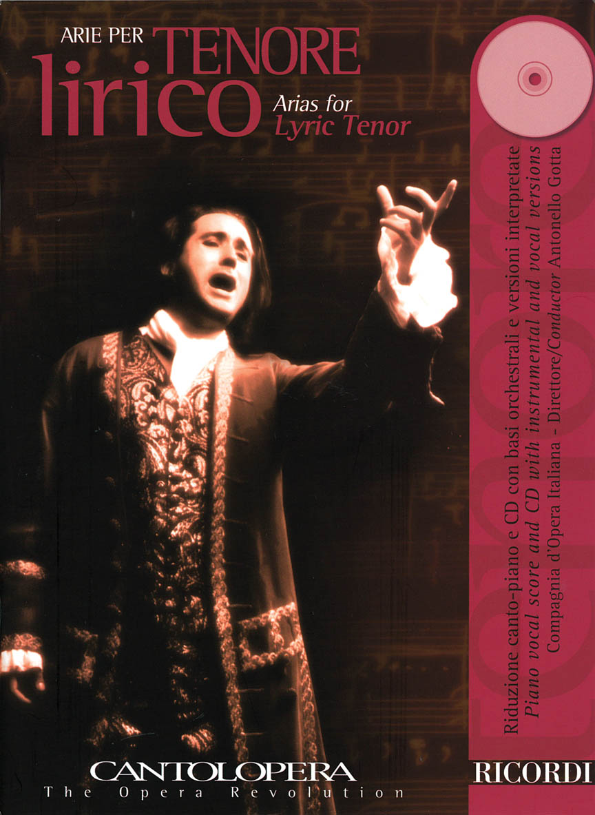 Product Cover for Arias for Lyric Tenor