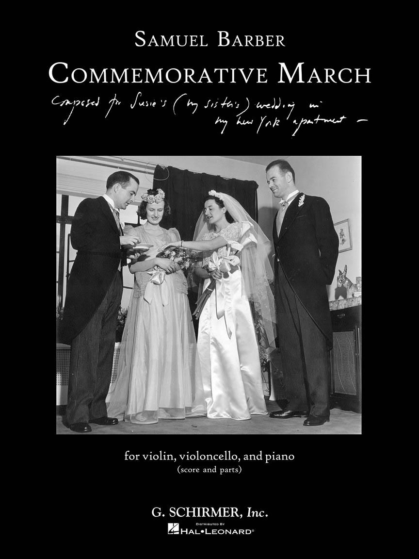 Product Cover for Commemorative March