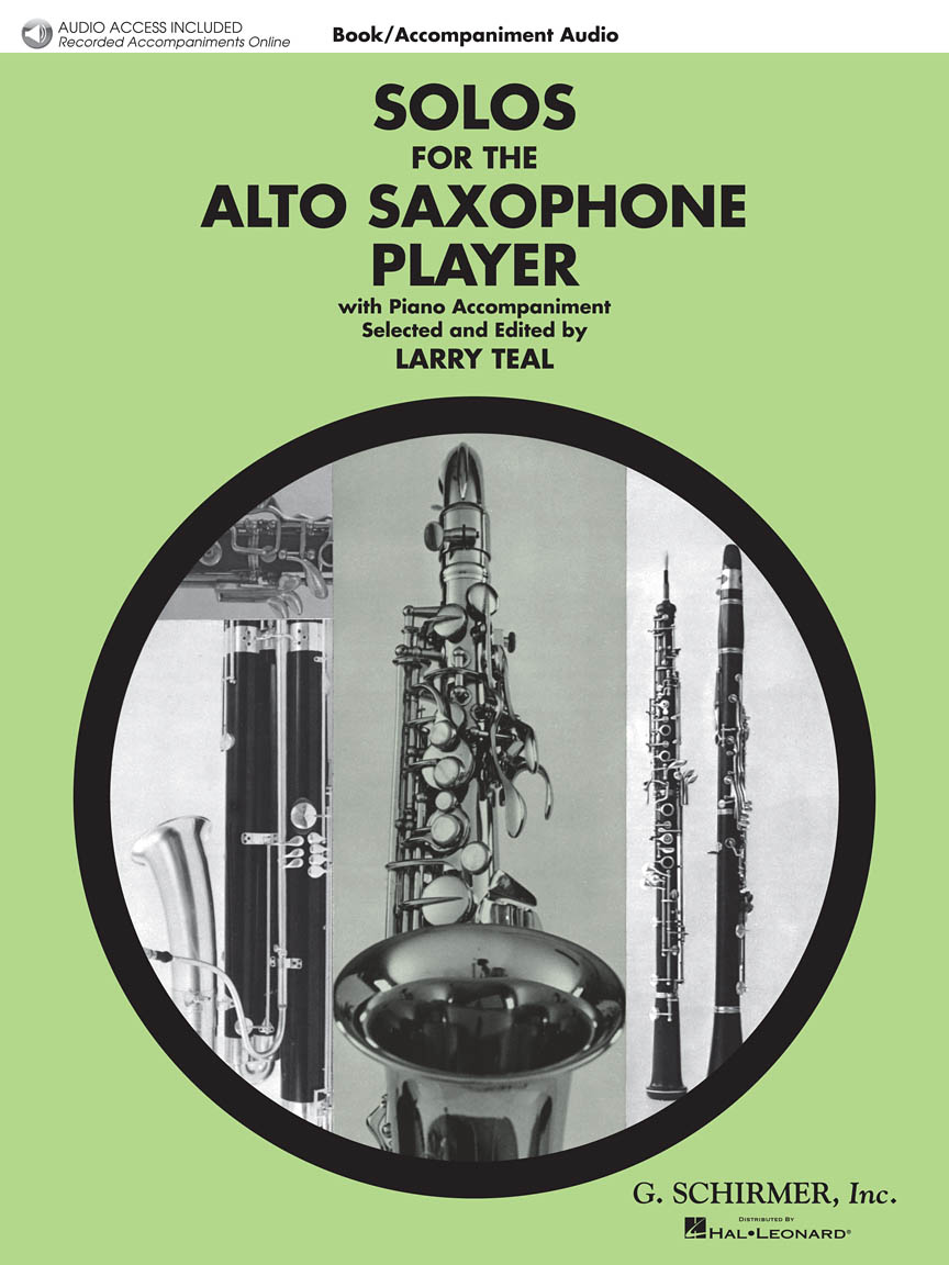 Product Cover for Solos for the Alto Saxophone Player