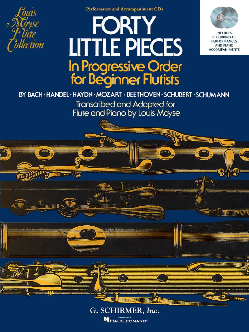 Product Cover for 40 Little Pieces in Progressive Order for Beginner Flutists