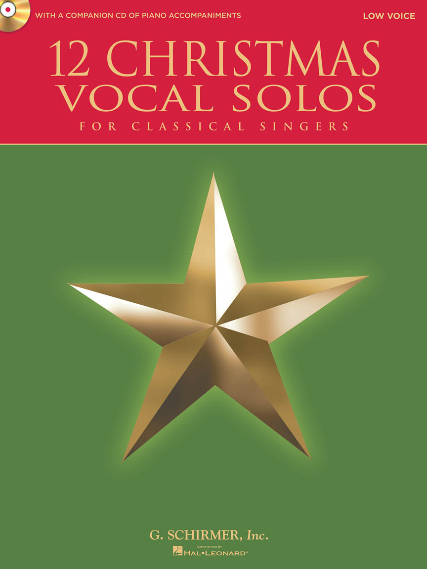 Product Cover for 12 Christmas Vocal Solos