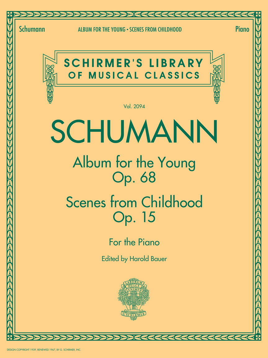 Product Cover for Schumann – Album for the Young • Scenes from Childhood