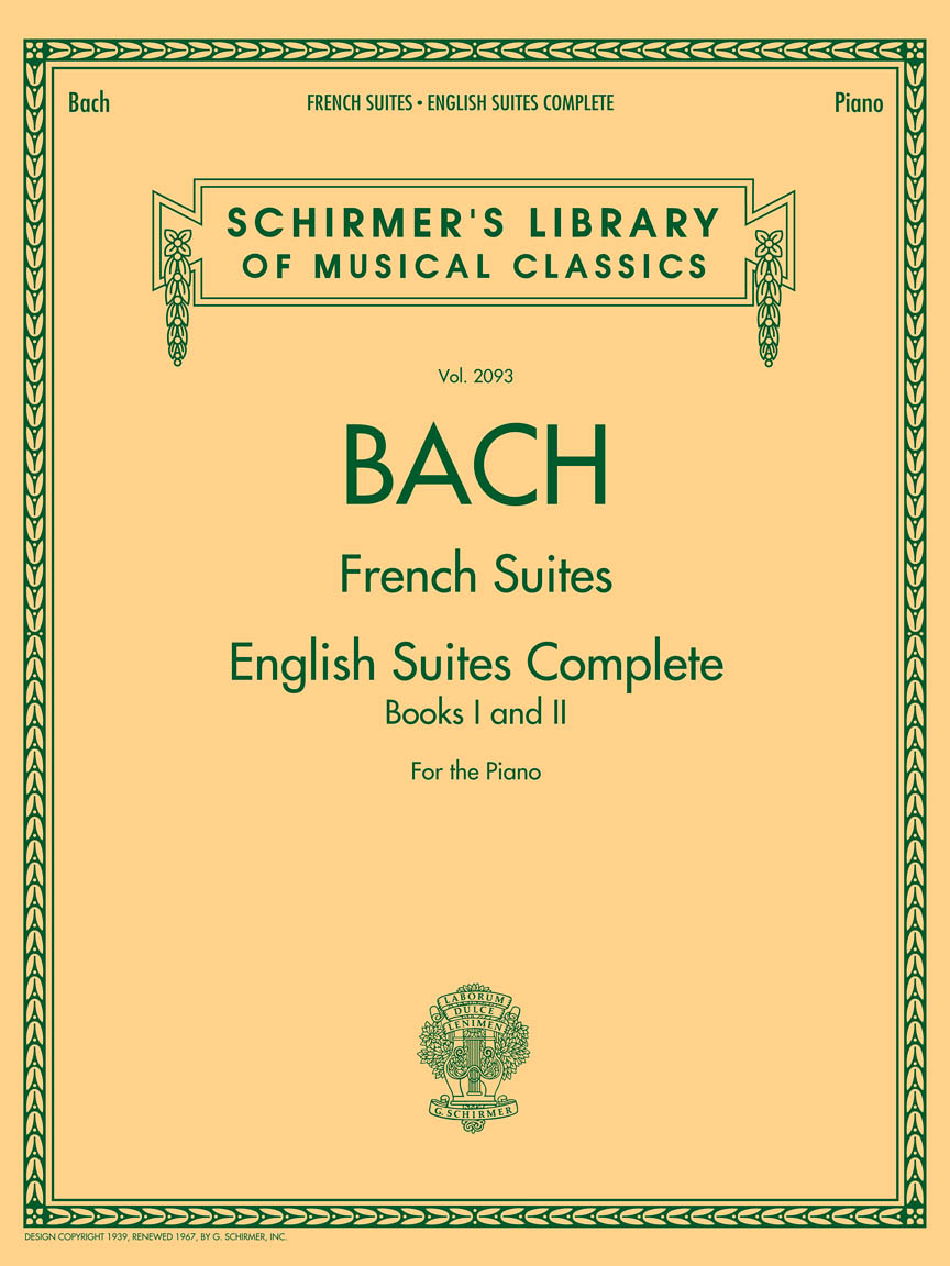 Product Cover for Johann Sebastian Bach – French Suites • English Suites Complete