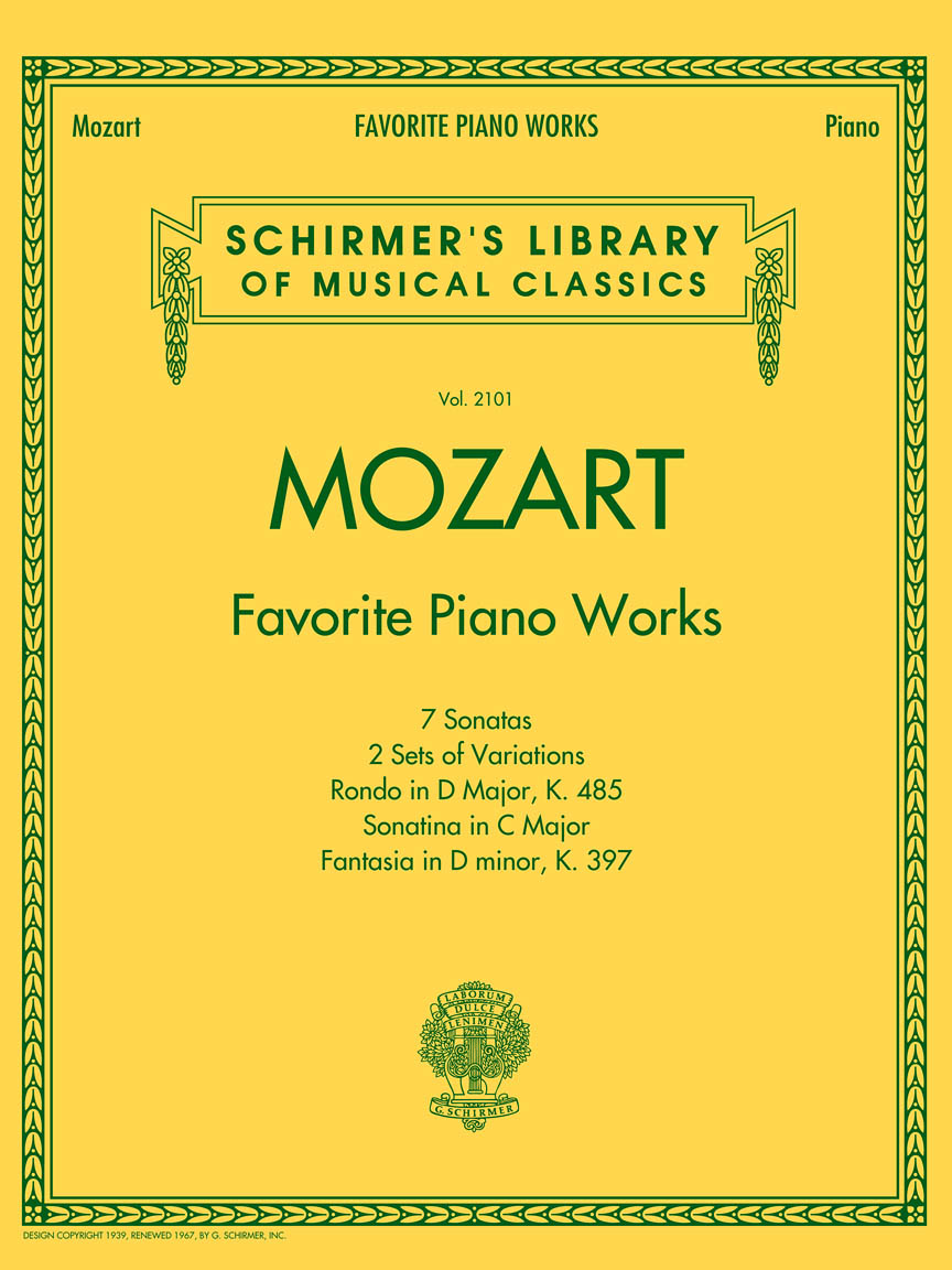 Product Cover for Mozart – Favorite Piano Works