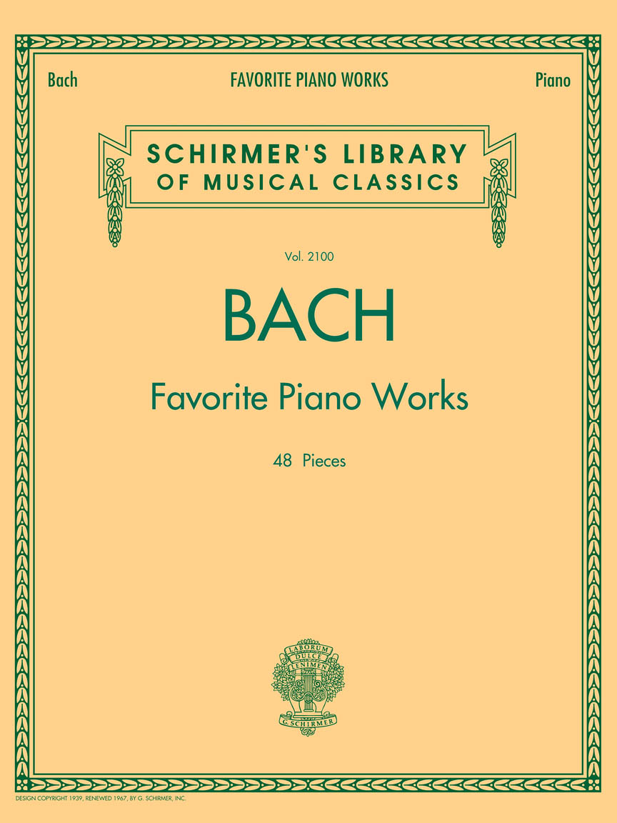 Product Cover for Bach Favorite Piano Works