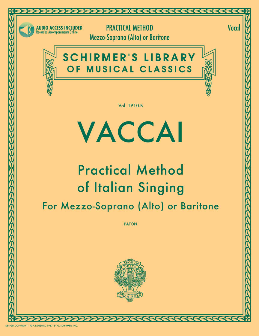 Product Cover for Practical Method of Italian Singing