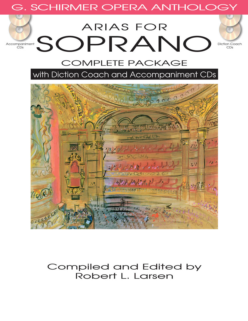 Product Cover for Arias for Soprano – Complete Package