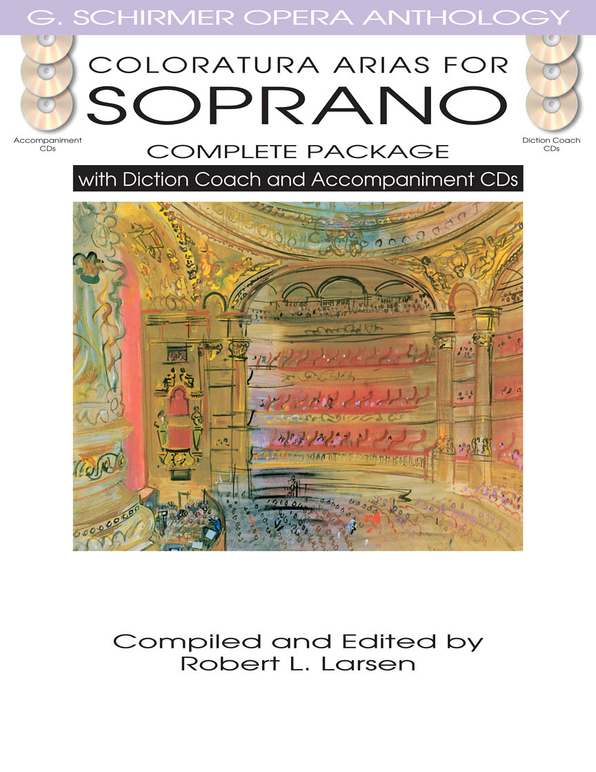 Product Cover for Coloratura Arias for Soprano – Complete Package