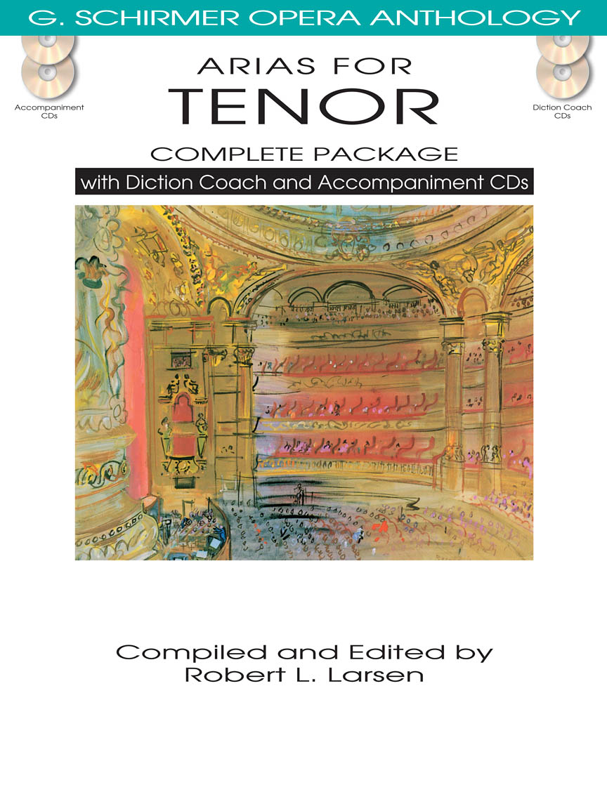 Product Cover for Arias for Tenor – Complete Package