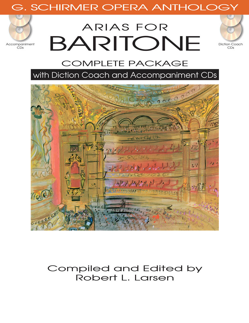 Product Cover for Arias for Baritone – Complete Package