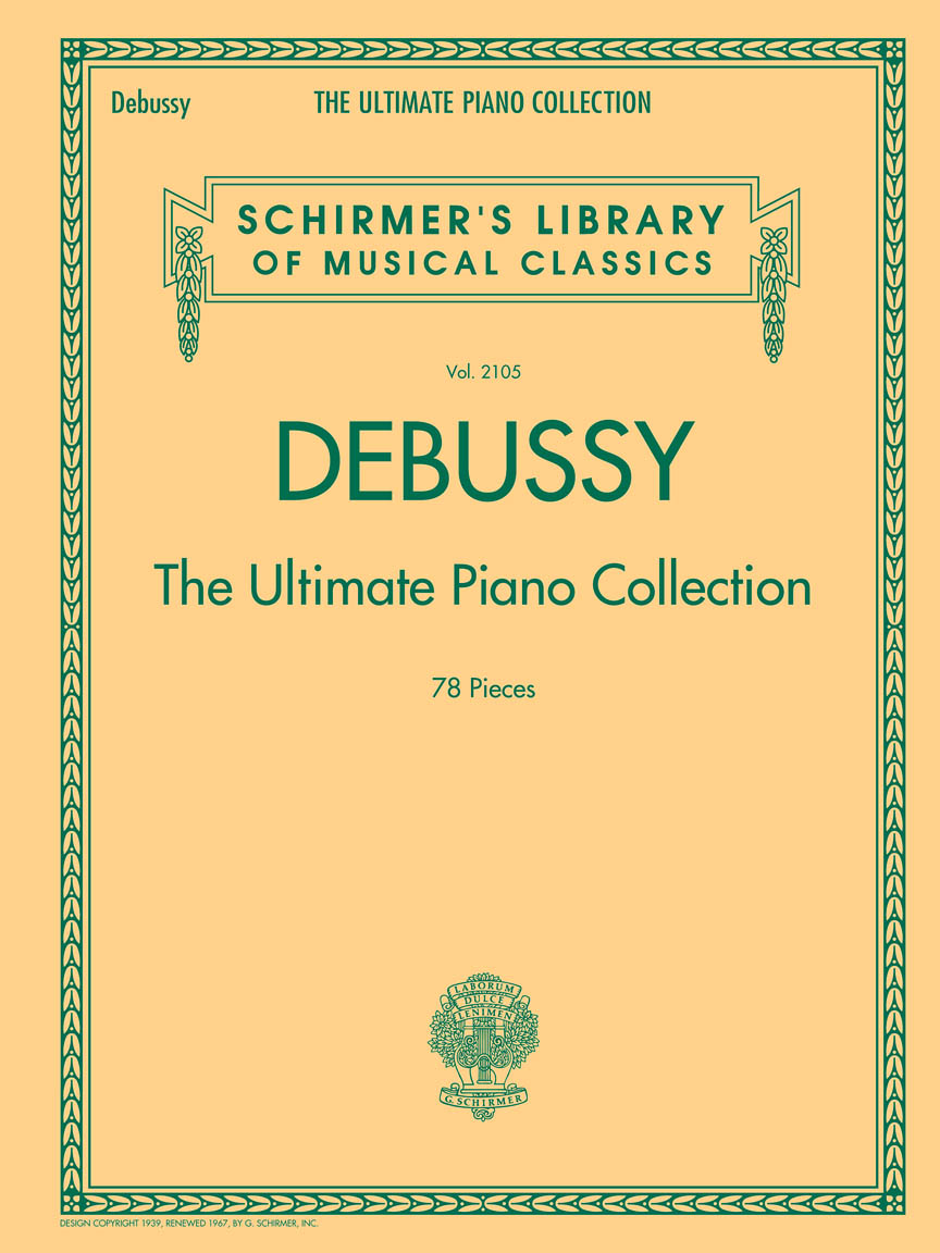 Product Cover for Debussy – The Ultimate Piano Collection