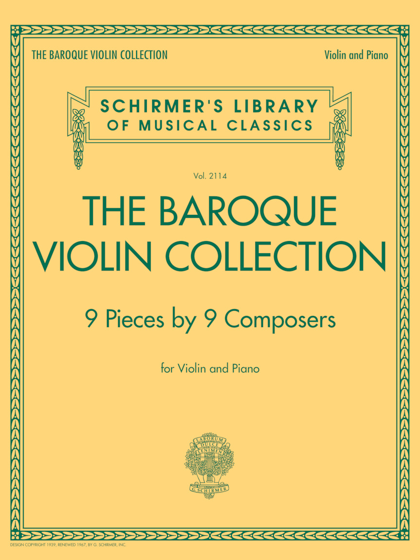 Product Cover for The Baroque Violin Collection – 9 Pieces by 9 Composers