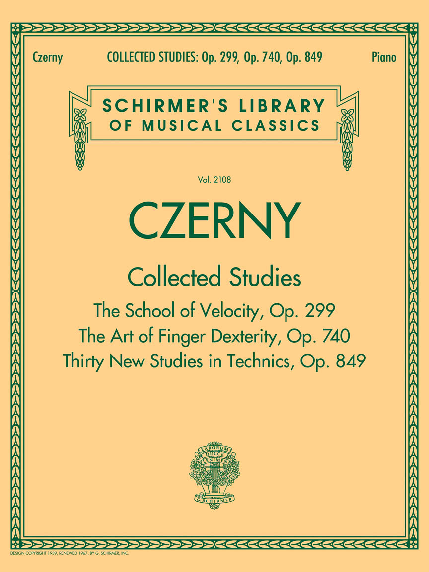 Product Cover for Czerny: Collected Studies – Op. 299, Op. 740, Op. 849
