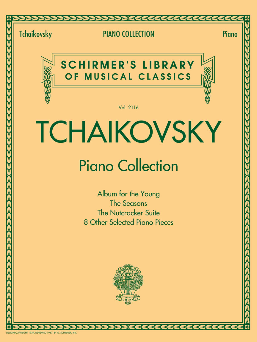 Product Cover for Tchaikovsky Piano Collection