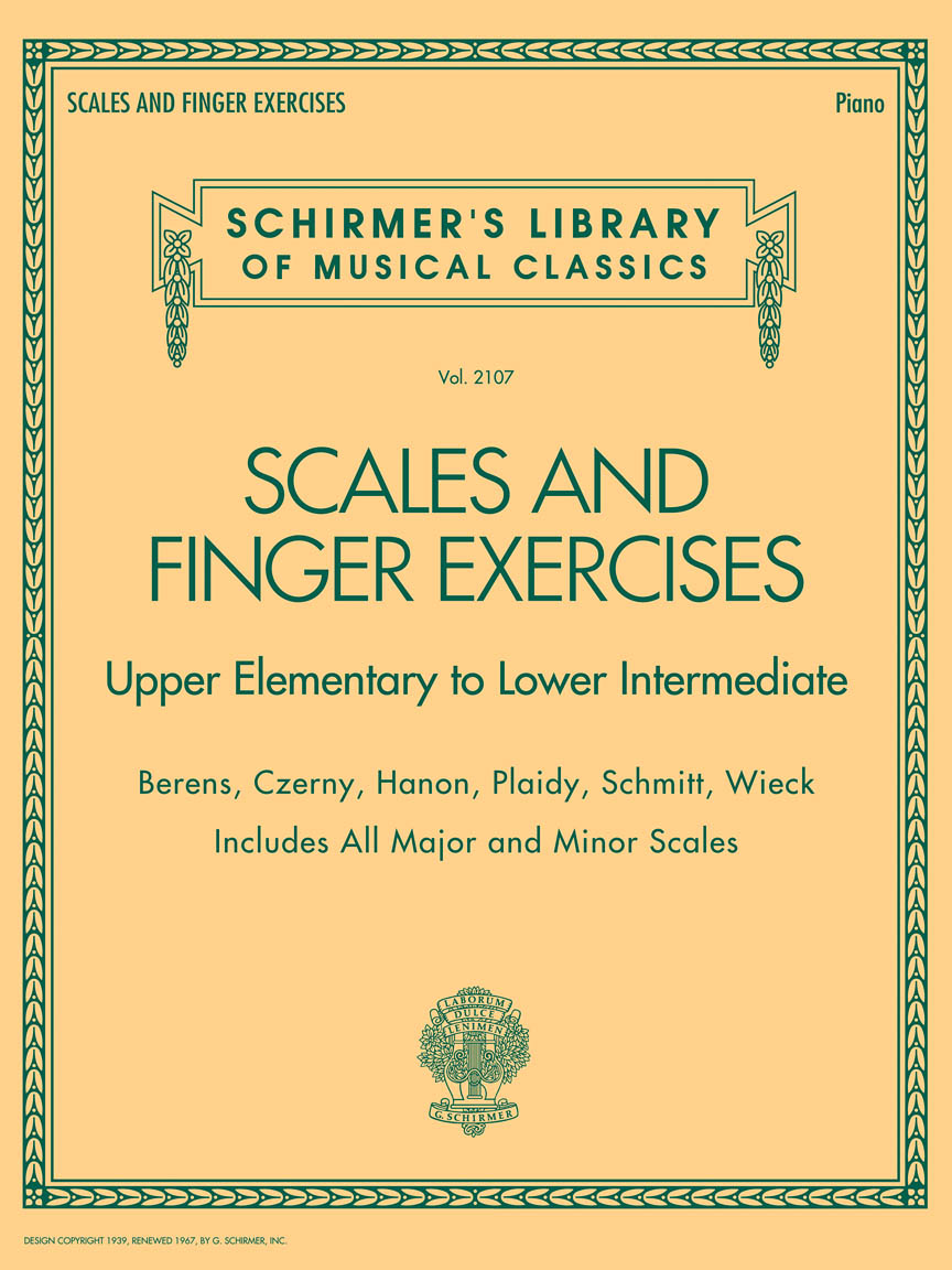 Product Cover for Scales and Finger Exercises
