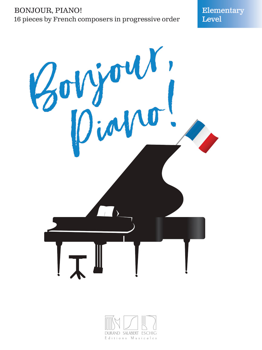 Product Cover for Bonjour, Piano! – Elementary Level
