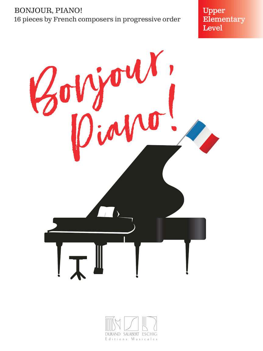 Product Cover for Bonjour, Piano! – Upper Elementary Level