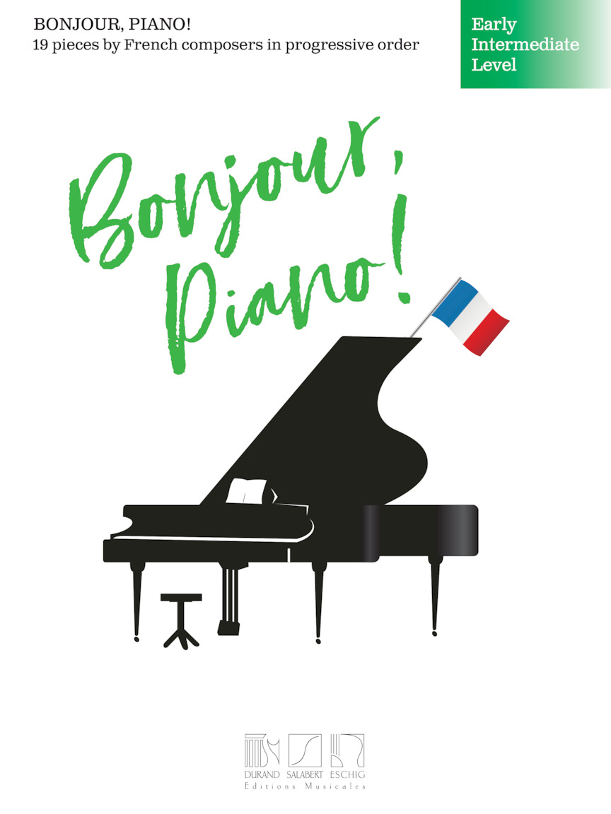 Product Cover for Bonjour, Piano! – Early Intermediate Level