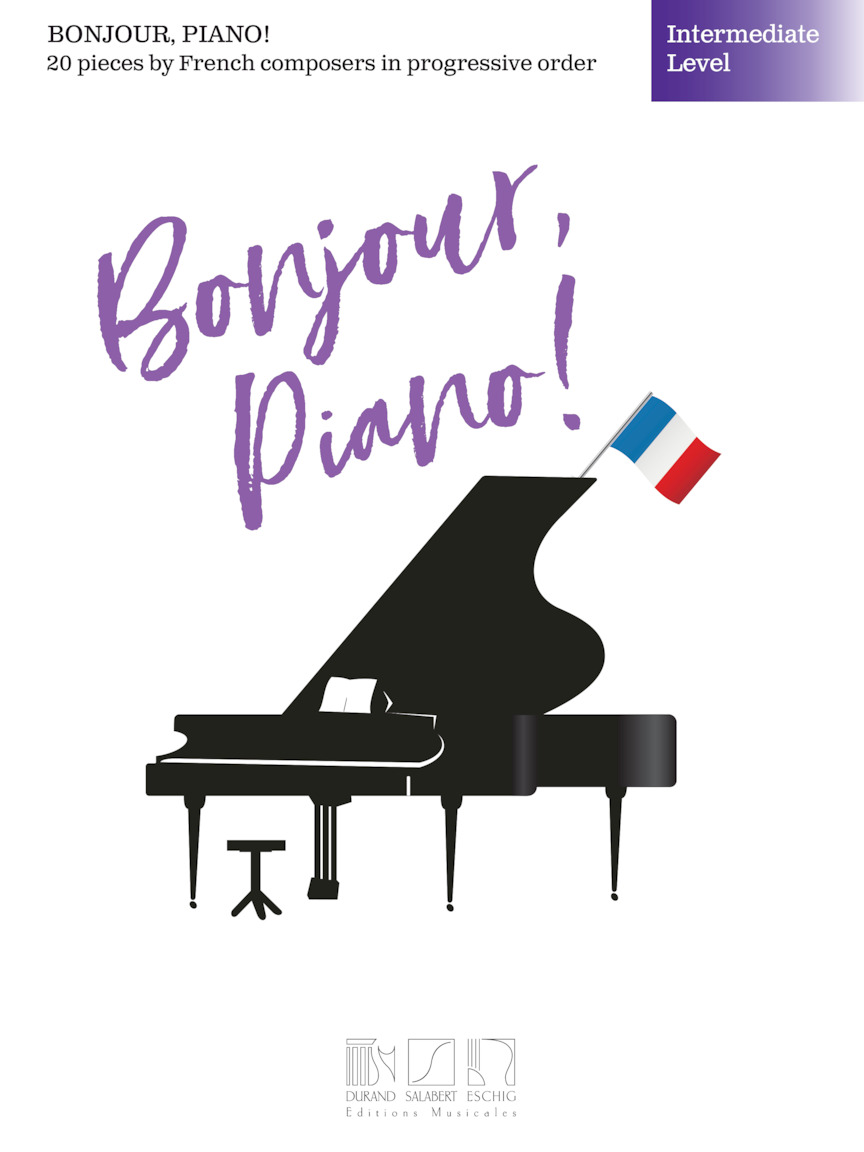 Product Cover for Bonjour, Piano! – Intermediate Level