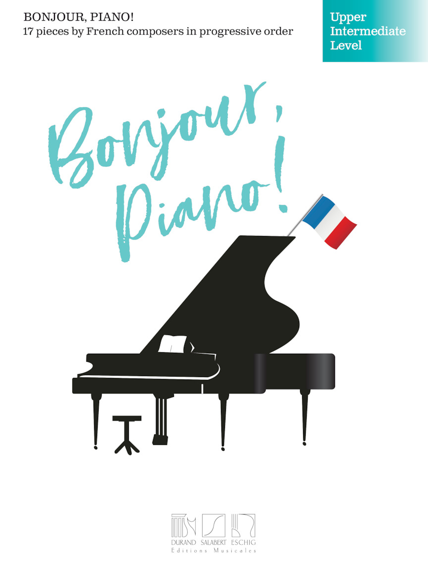 Product Cover for Bonjour, Piano! – Upper Intermediate Level