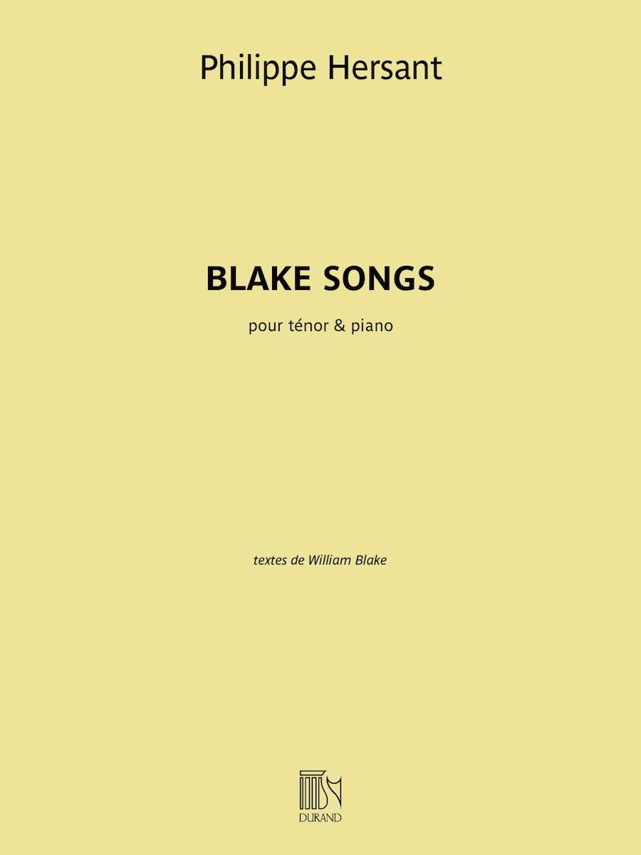 Product Cover for Blake Songs