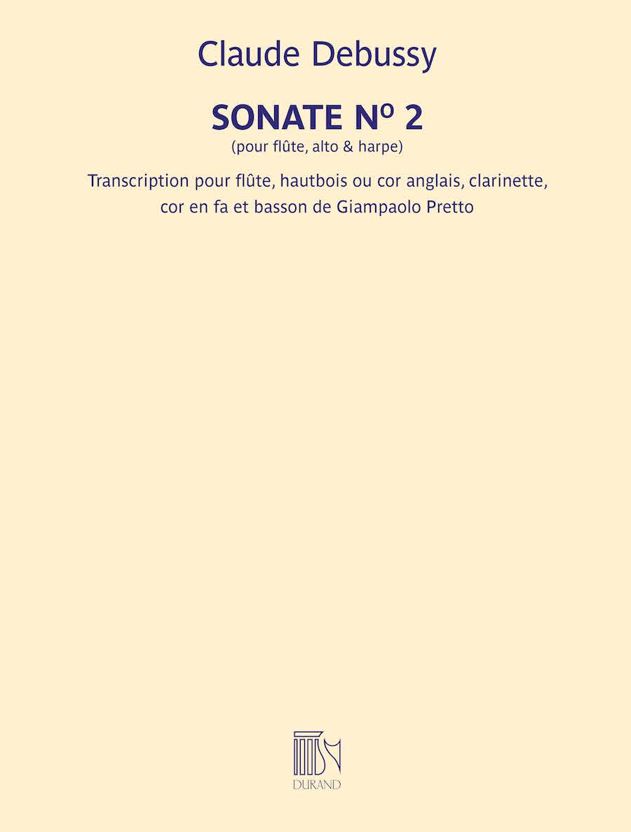 Sonate No. 2 (for Flute, Viola, and Harp)